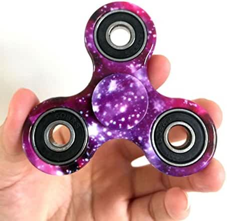 D-JOY Tri-Spinner Fidget Toy Hand Spinner Camouflage, Stress Reducer Relieve Anxiety and Boredom Camo