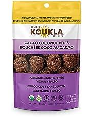 KOUKLA Delights - Cacao Coconut Macaroons, Cacao Coconut, 150 Grams