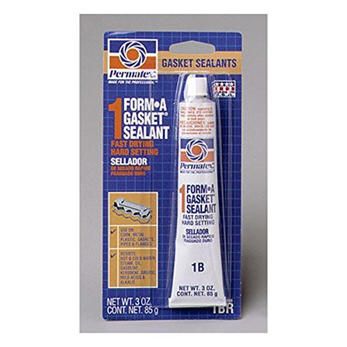Permatex 80008 Form-A-Gasket No 1 Sealant Fast Drying Hard Setting 3 oz Tube