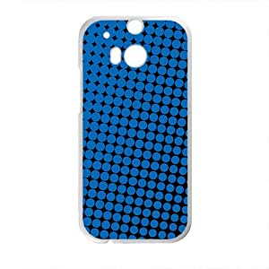 Simple fashion elegant design pattern Phone Case for HTC One M8