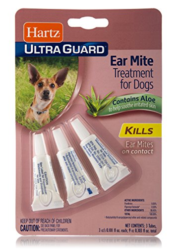 Hartz UltraGuard Ear Mite Treatment for Dogs - Ear Mites
