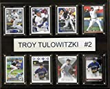 MLB Colorado Rockies Troy Tulowitzki 8-Card Plaque, 12 x 15-Inch