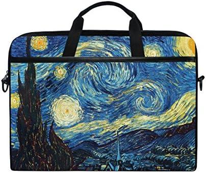 Ahomy 14 Pulgadas Bolsa para Laptop, Pintura al óleo Van ...