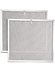 Broan BPS2FA30 Aluminum Replacement Filters for 30-Inch QS2 and WS2 Range Hoods, 2-Pack