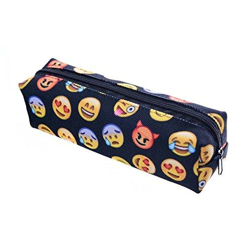 [High Quality Emoji 3D Printing student pencil bag cosmetic bags] (Asian Guy Halloween Costume)