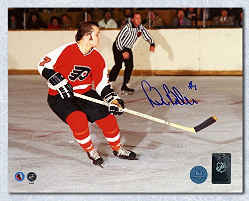 AJ Sports World Bill Barber Philadelphia Flyers Autographed Horizontal Action 8x10 Photo