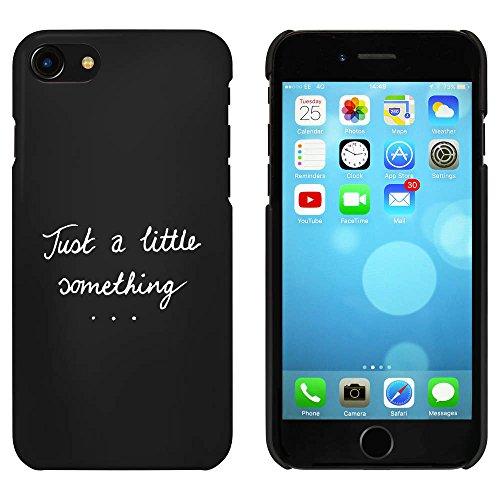 Noir 'Just A Little Something' étui / housse pour iPhone 7 (MC00066573)