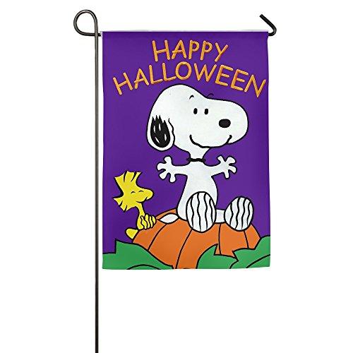 [Snoopy Happy Halloween Confederate Decorative Garden Flags] (Confederate Flag Halloween Costume)