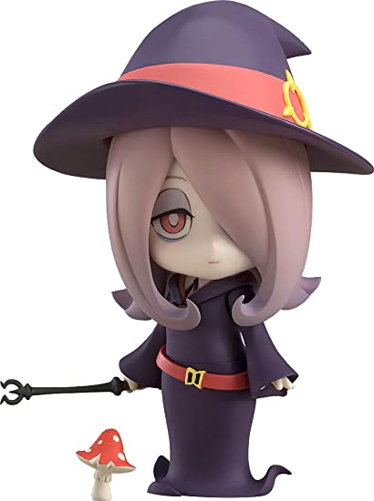 Amazon Com Good Smile Little Witch Academia Sucy Manbavaran Nendoroid Action Figure Toys Games