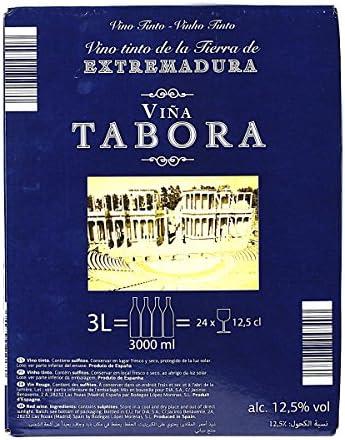 VIÑA TABORA vino tinto de la tierra de castilla bag in box 3 lt