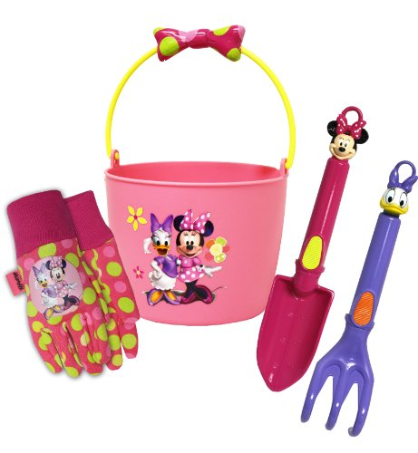 Disney-Minnie-Mouse-Bucket-and-Garden-Tool-Set-Combo-Pack-MY14P03-Size-Kids