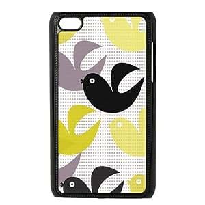 iPod Touch 4 Case Black brigitta. robinzingone OJ647270