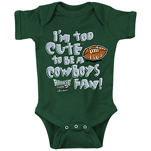- Smack Apparel Philadelphia Football Fans. Too Cute. Onesie (NB-18M) or Toddler Tee (2T-4T) (12 Month)