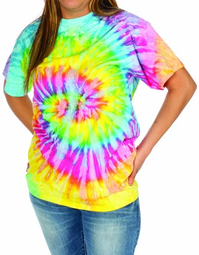 Alexanders Costumes Tie Dye Shirts, Multi, Large
