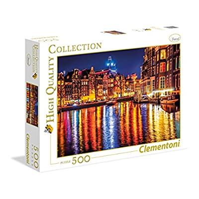 Clementoni 35037 High Quality Collection Puzzle Amsterdam 500 Pezzi