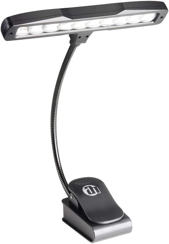 ah Stands SLED 10 - Lámpara de lectura LED con pinza