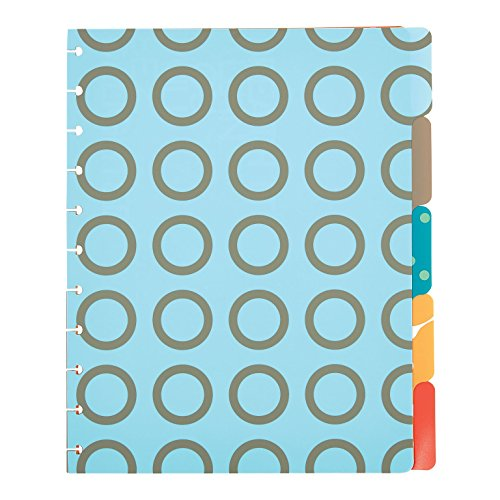Staples Arc Customizable Notebook System Poly Tab Dividers, 9