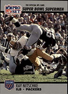 1990-91 Pro Set Super Bowl 160 #92 Ray Nitschke Card