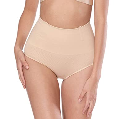 f3d11e938 Image Unavailable. Image not available for. Color  Women Waist Trainer  Bodysuit Tummy Control Panties Seamless Body Shaper Slimming Girdles  Underwear