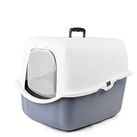 Axiba Animal-WC Tocador de Gato Desodorante Antibacteriano de Productos de Limpieza para Mascotas automático