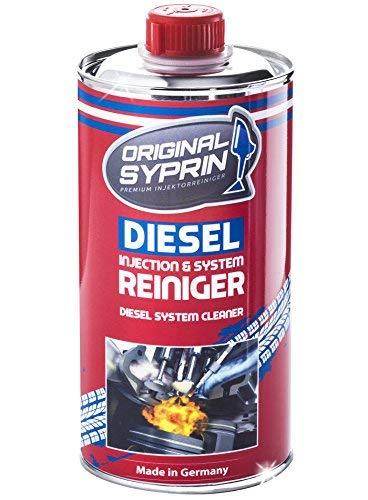 Syprin - Limpiador original de diésel - Aditivo limpiador de sistemas diésel - Limpiador de toberas