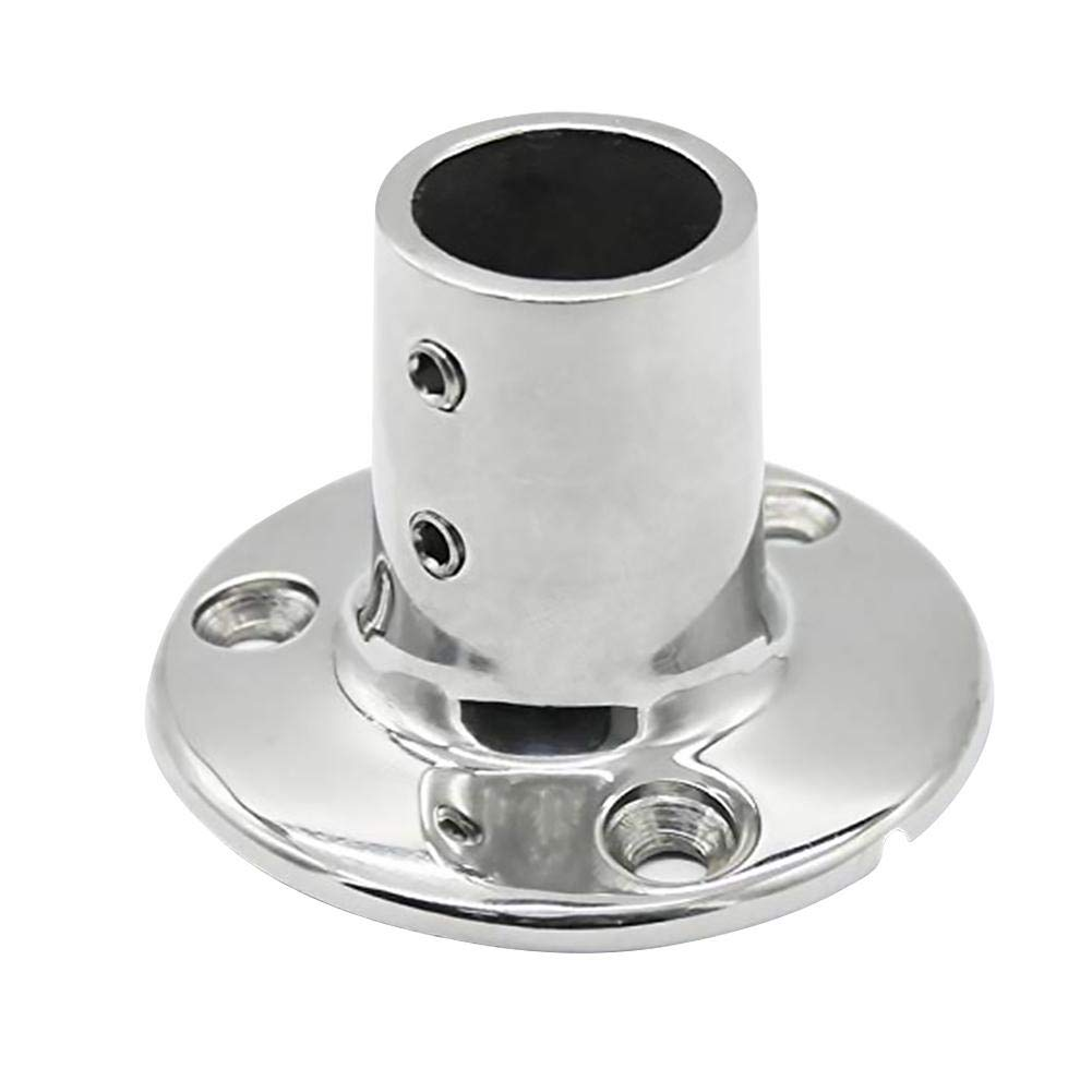 Hand Rail Fitting 90 deg rec base 7/8 tube Stainless Boat Parts Auto Parts and Vehicles