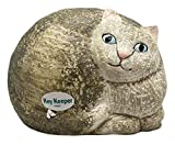 Key Keeper Curled-Up Kitty Ceramic Spare Key Hider - By Ganz