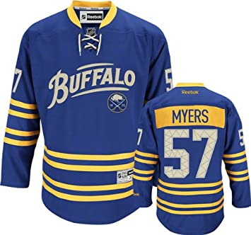 Amazon.com : Tyler Myers Premier Jersey: Buffalo Sabres #57 Blue Premier  Jersey : Athletic Jerseys : Sports & Outdoors