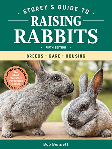 Book Cover: Storey's Guide to Raising Rabbits, 5th Edition: Breeds, Care, Housing