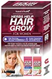 duopack Herbs Help Hair Grow Hair Reviving Scalp Formula & Conditioning Shampoo Duo-Pack for Visibly Thicker and Fuller Looking Hair