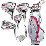 Cobra Women's FLY-Z XL Golf Club Set (13 Piece), Right Handed, Raspberry