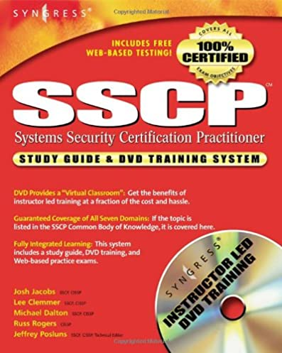 amazon com sscp study guide and dvd training system 9781931836807 rh amazon com Skill Related Fitness Workout Fitness Graphics