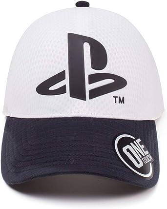 Difuzed Sony Playstation Logo Curved Bill Cap Gorra de béisbol ...