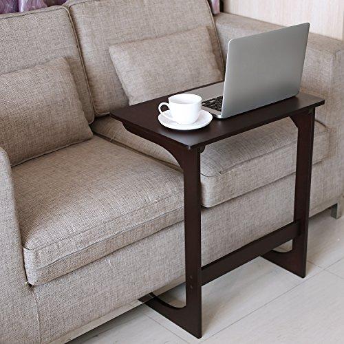 Amazon.com: HOMFA - Mesa de bambú para aperitivos, sofá ...