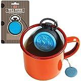 DCI Tea Time Tea Infuser, Black/Blue
