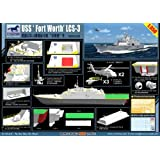 Bronco 1/350 NB5028 LCS 3 USS Fort Worth Standing Model Building