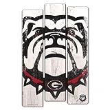 WinCraft NCAA University of Georgia Wood Fence