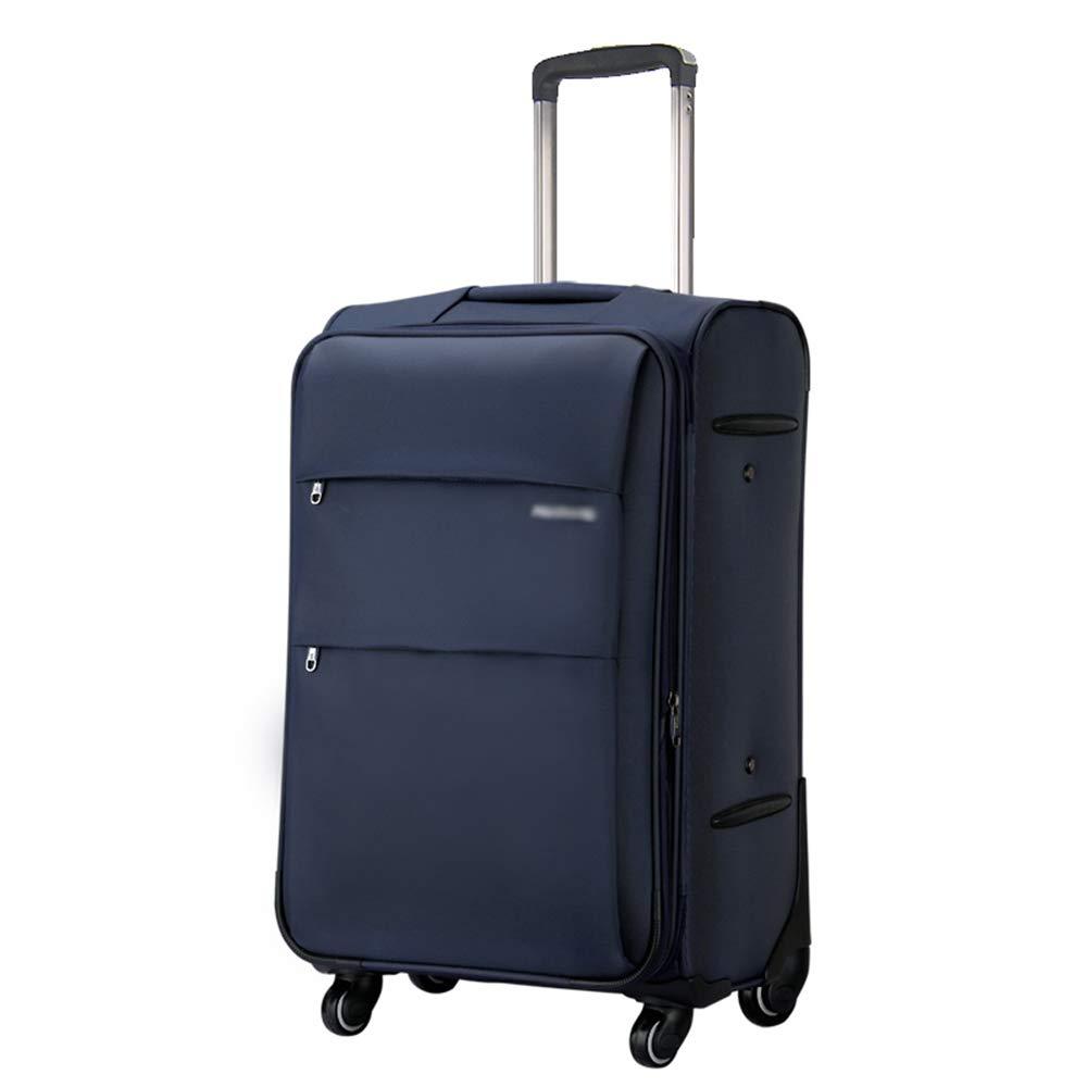 Mei Xu 荷物セット トロリーケース学生ボックストロリーケースユニバーサルホイール荷物ボックス男性と女性海外搭乗パスワードスーツケース3色3サイズ利用可能 トラベルエッセンシャル (色 : Blue gray, サイズ さいず : 35*23*51cm) 35*23*51cm Blue gray B07MR9C6KP