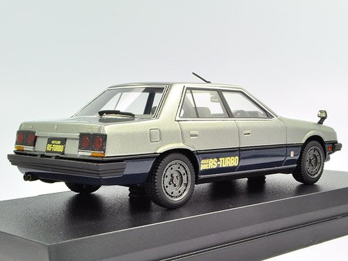 Amazon.com: Hi Story 1/43 NISSAN SKYLINE SEDAN 1983 2000 TURBO RS SILVER (japan import): Toys & Games