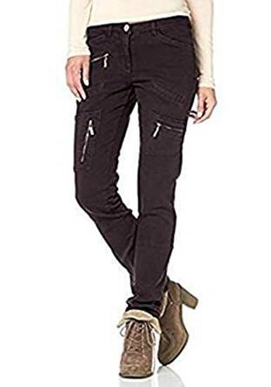 35fa1b5468dc Pantalon Pantalon Extensible Femmes de Boysen`s - gris brun