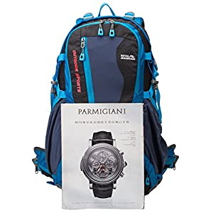 ROYAL MOUNTAIN Hiking Backpack Waterproof Backpacking Bag Outdoor Sport Daypack for Climbing Mountaineering Camping Fishing Travel Cycling Skiing with Rain Cover (40L)