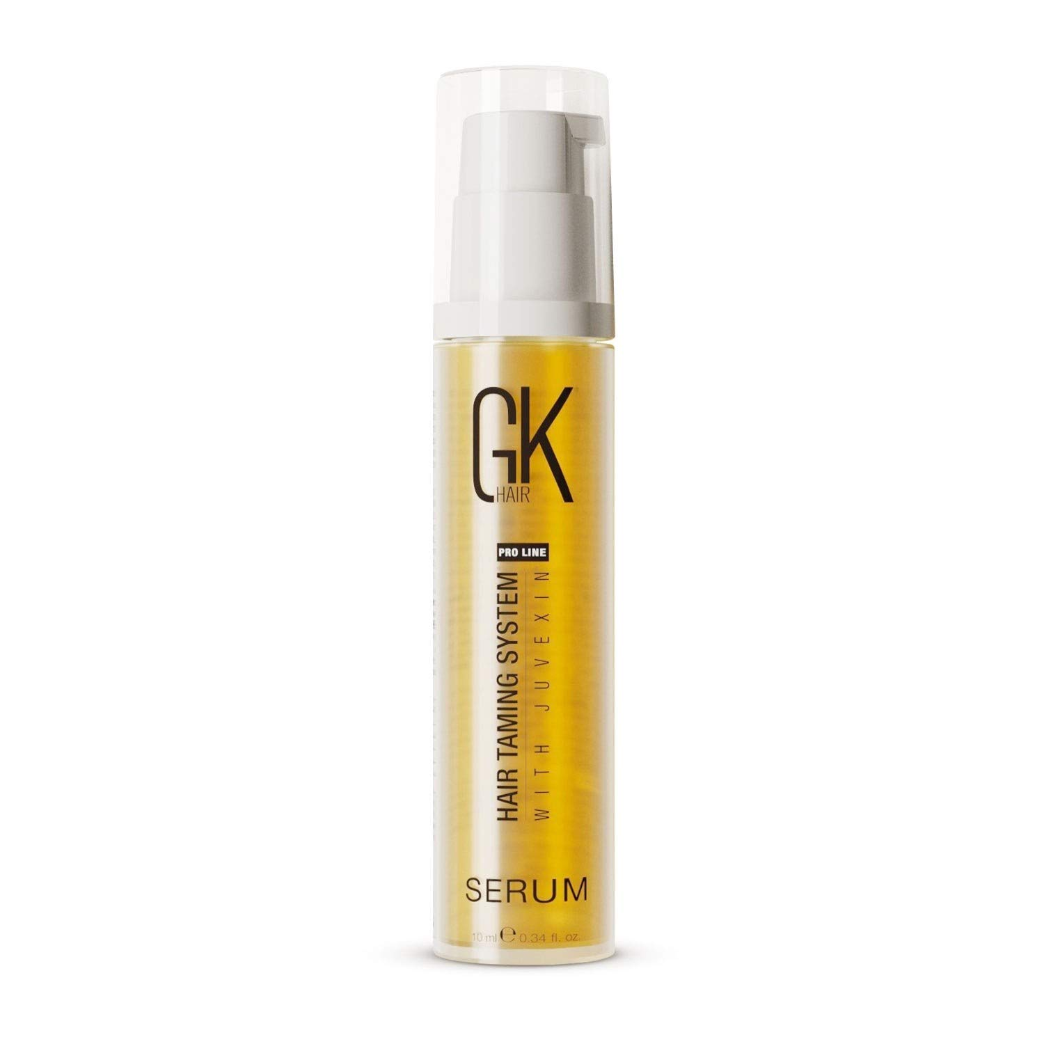 Global Keratin GK Hair Smoothing Serum (Pack of 1/0.34 fl oz) - 100% Pure Organic Argan Oil | Hydrating Strength Shine Dry Damaged Repair Anti-Frizz Moistures Nourishment