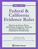 img - for Federal & California Evidence Rules: 2016-2017 Supplement (Supplements) book / textbook / text book