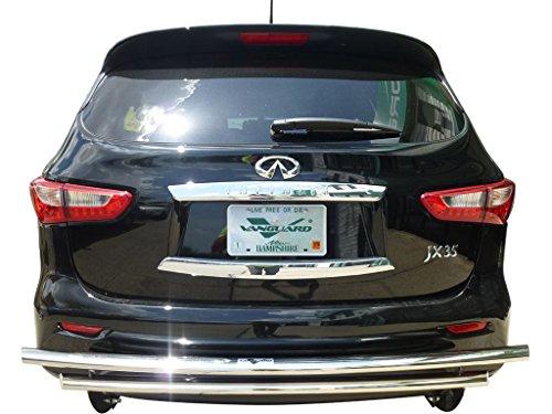 VANGUARD 2013-2017 Infiniti JX35,QX60 Rear Bumper Guard Double Layer S/S