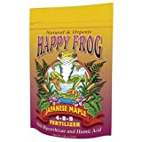 buy Fox Farm 752289500411 FoxFarm Happy Frog Japanese Maple Fertilizer 4 lb (12/Cs) now, new 2019-2018 bestseller, review and Photo, best price $22.51