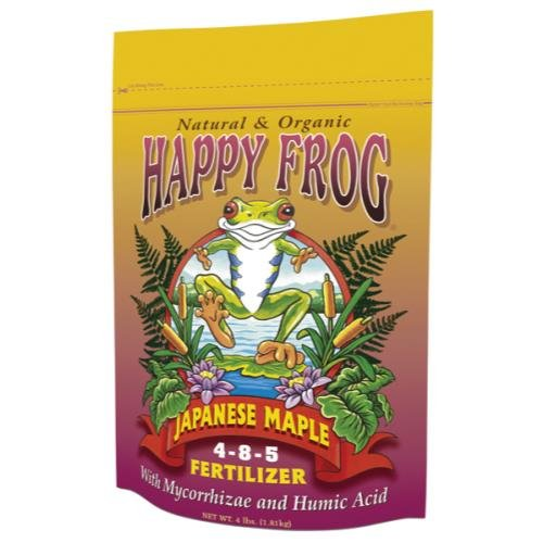 Fox Farm 752289500411 Foxfarm Happy Frog Japanese Maple Fertilizer 4 Lb (12/Cs)