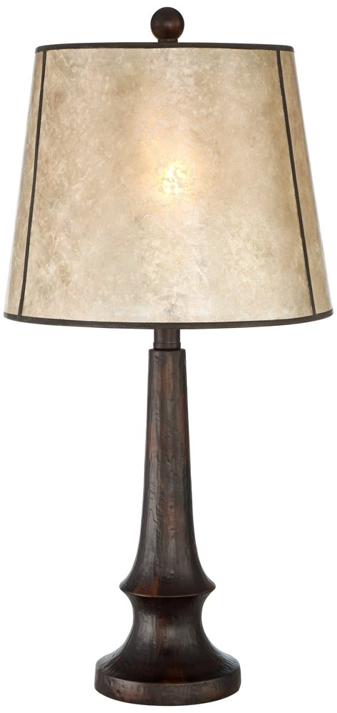 Naomi Table Lamp with Mica Shade
