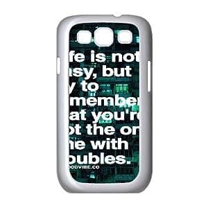 Quotes Unique Design Cover Case for Samsung Galaxy S3 I9300,custom case cover ygtg528624