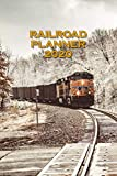 RAILROAD PLANNER 2020 MONTHLY AND WEEKLY ORGANIZER: 6x9 INCH CALENDAR FROM DEC 19 TO JAN 21 WITH MONTHLY OVERVIEW IN FRONT FOLLOWED BY A WEEKLY ... GIFT IDEA FOR RAILWAYMAN AND TRAIN LOVER