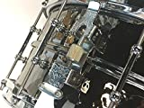 Ludwig LB417KTWM 6.5 x 14 Inch Hammered Black Beauty Snare Drum with Tube Lugs & P86